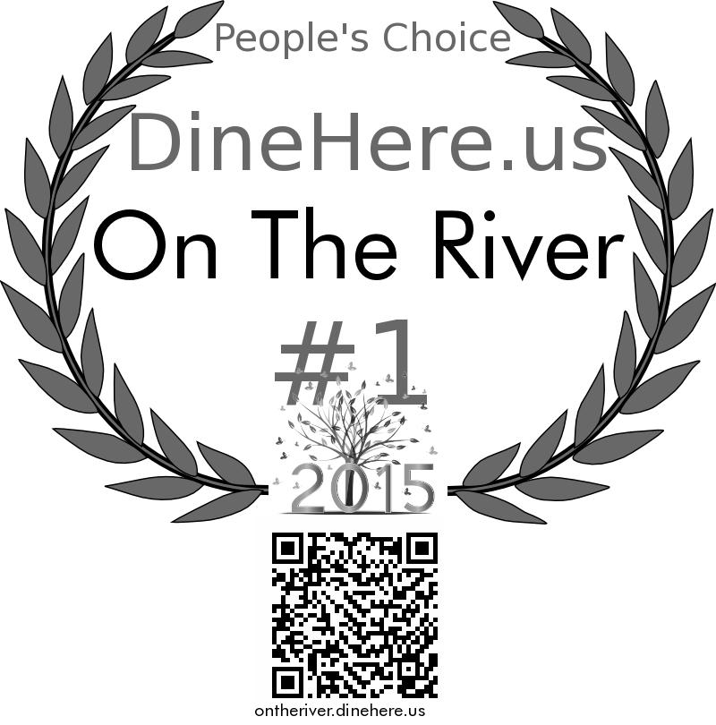 On The River DineHere.us 2015 Award Winner